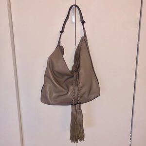 Rebecca Minkoff Isobel hobo in gray leather